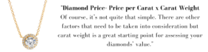 diamond carat weight explained